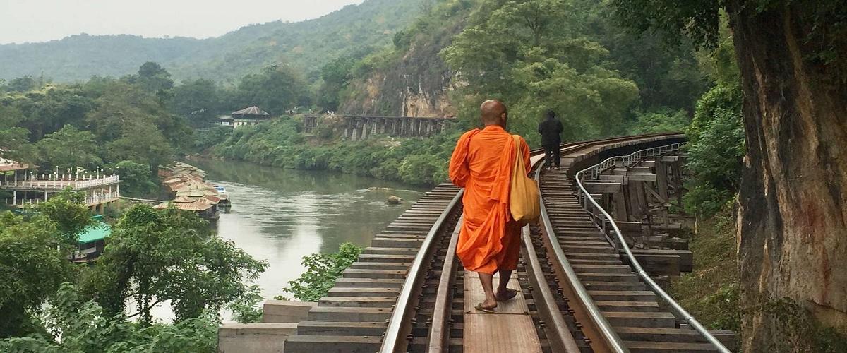 From Bangkok: Kanchanaburi Tour, Railway & Floating markets