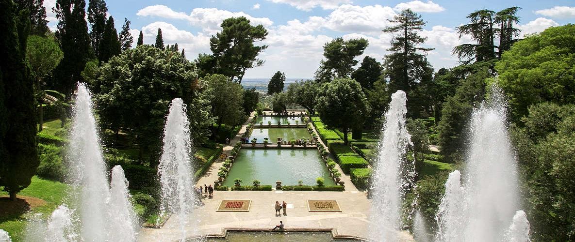 rome. 'day trip to 'Hadrian's Villa & Villa D'Este