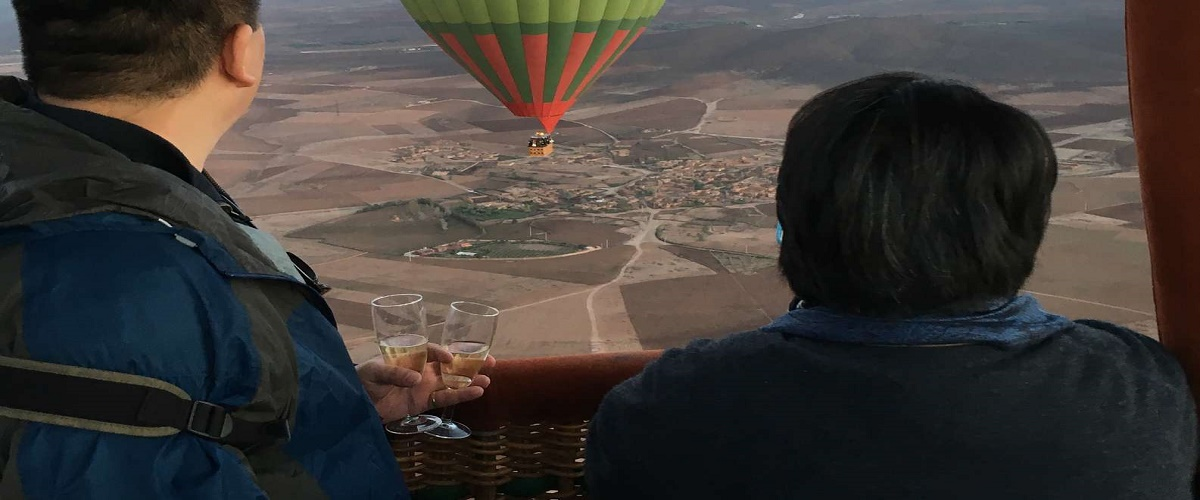Hot Air Balloon over Marrakech with Breakfast