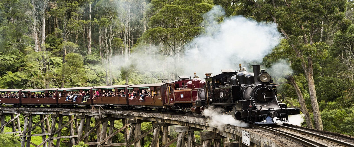 Melbourne Combo: Great Ocean Road plus Healesville Sanctuary and Puffing Billy