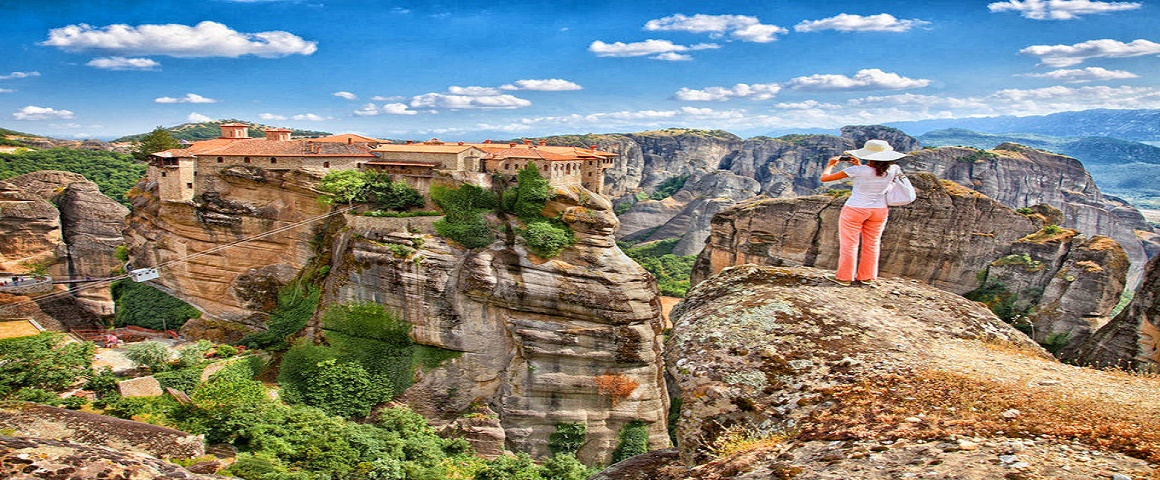 athens. 'day trip to 'Meteora-Monastries