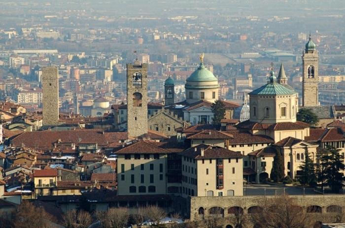 Milan day trip to Bergamo