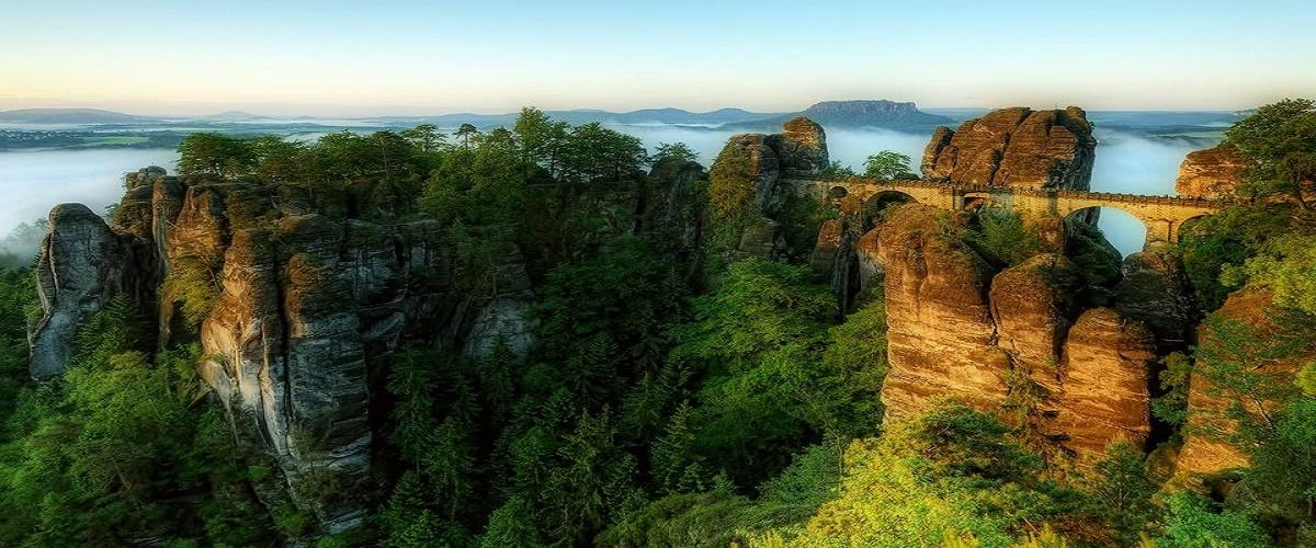 berlin. 'day trip to 'Saxon Switzerland National Park
