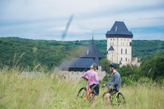 Scenic Karlštejn Castle Bike Small-Group Day Trip from Prague