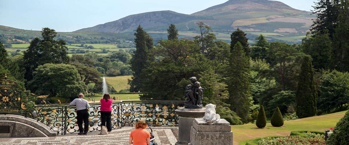 Wicklow, Powerscourt, and Glendalough Tour from Dublin