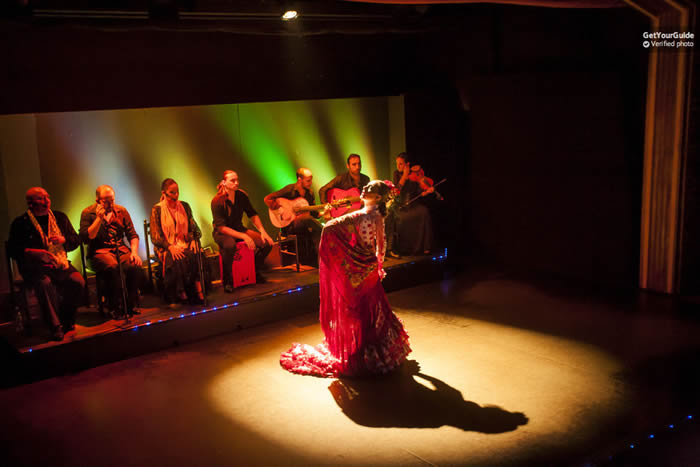Barcelona 1-Hour Flamenco Show at Palacio del Flamenco