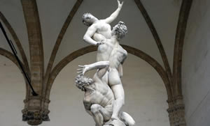 the Sabine Women by Giambologna