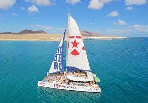 Sailing trip to Graciosa