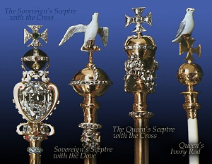 The Sovereign's Sceptre and Rod