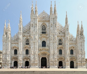Milan Cathedral Outside