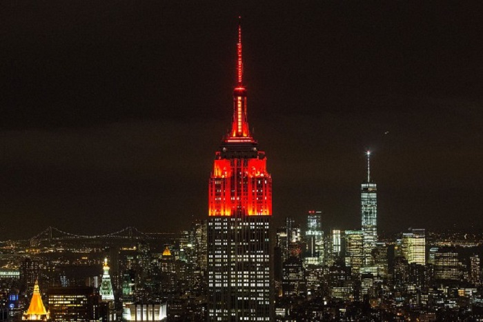 Empire State Building Lights