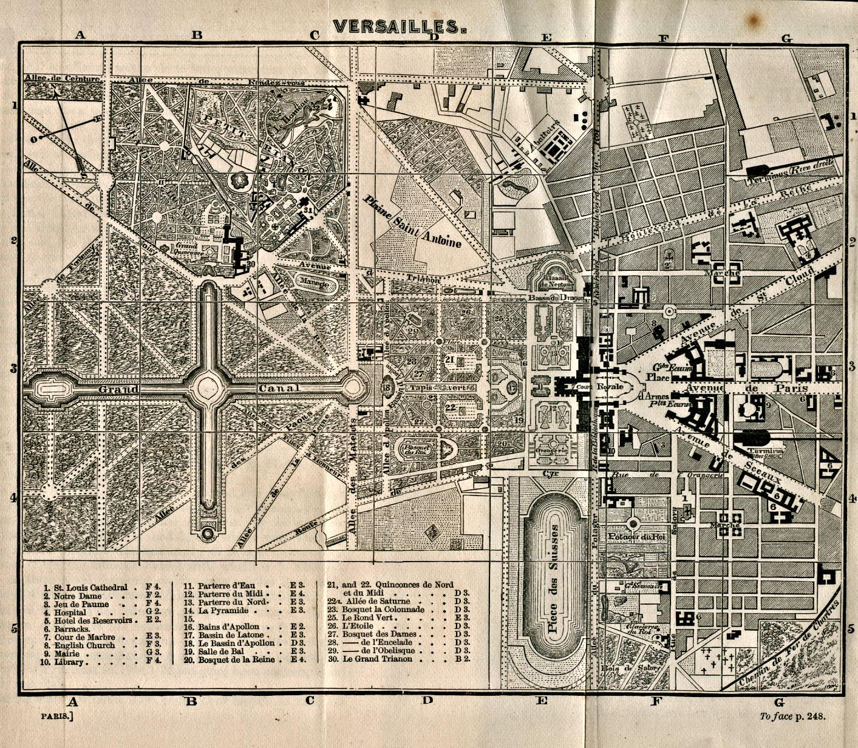 Gardens Of Versailles Map 11