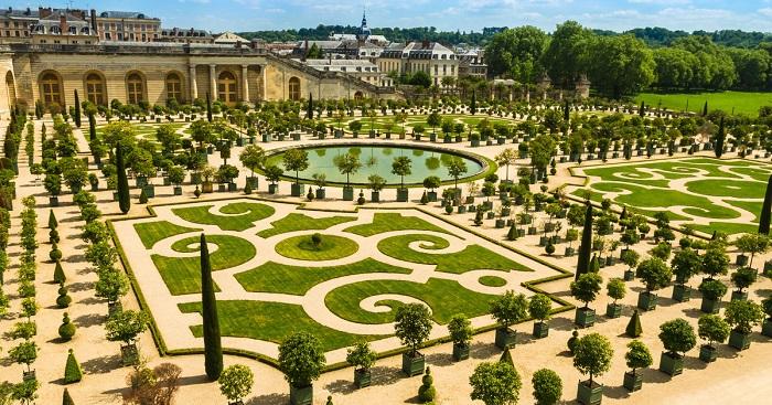 Gardan of Palace of Versailles