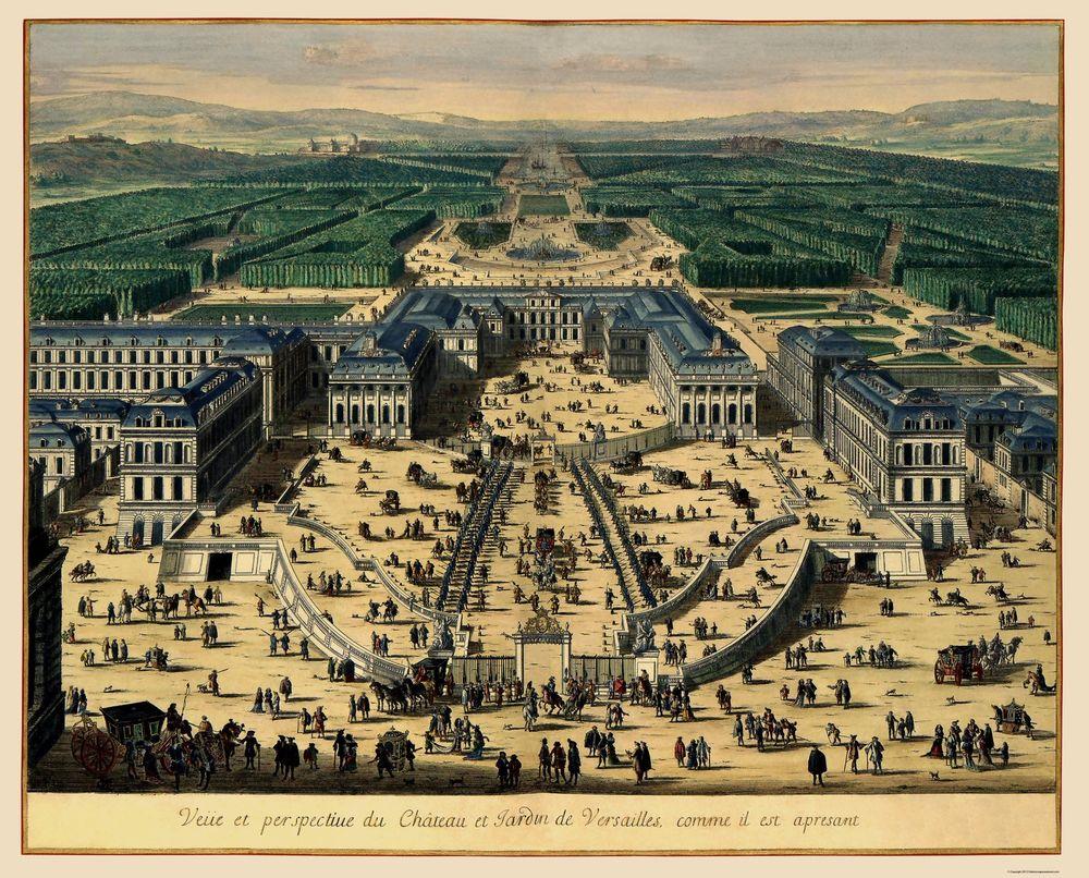 Palace Of Versaillies Map Pdf Free Printable Maps Of