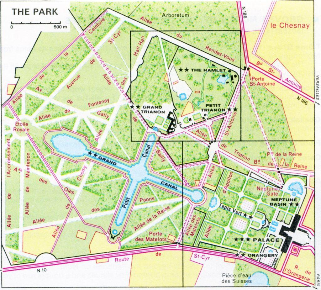 Gardens Of Versailles Map 8