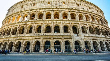 Colosseum Outer Walls