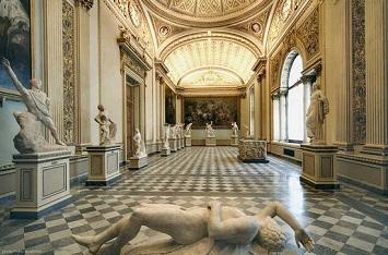 Uffizi Gallery Interior