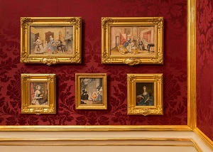 Study and Salon of Franz Karl