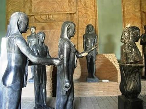 The Gregorian Egyptian Museum