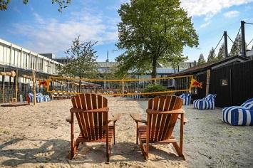 Relaxing at Strandzuid