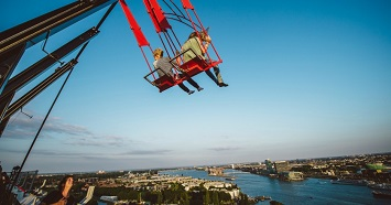 SWING on Europe's Highest Swing