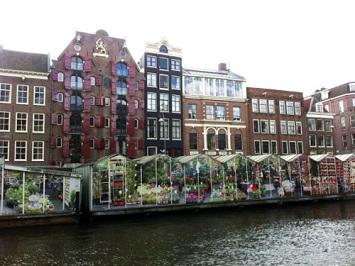 Visit the floating Flower Market