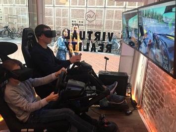 VR Game House Amsterdam