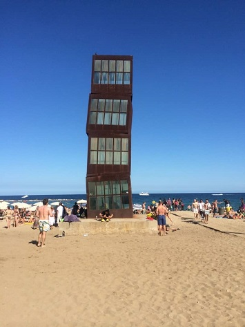 Relax at the Barceloneta Beach