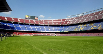 Watch a Game at the FC Barcelona Stadium