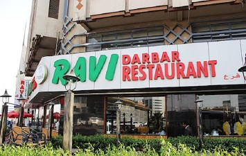 Dine at the Famous Ravi's Restaurant