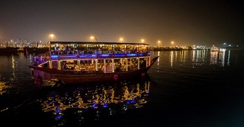 Get on a Dhow for a Dinner Cruise at the Dubai Creek