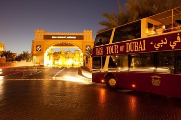 Hop on the Big Bus For a Night Tour of Dubai