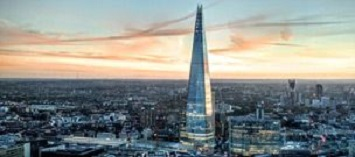 Admire London from SHARD'S top