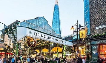 Eat and Roam about in BOROUGH MARKET
