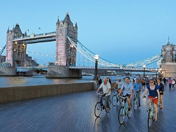 Ride a Bike and Pedal Through London
