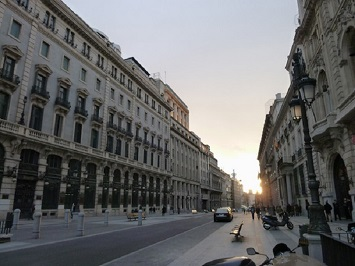 Take a Walk Along the Alcala Street