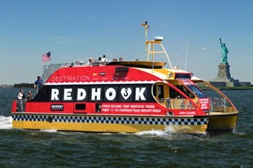 Taking a Ferry to Red Hook