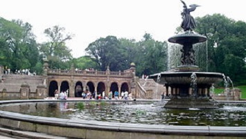 Visit the Bethesda Fountain and Terrace