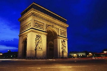 Climb to the Top of the Arc de Triomphe