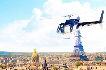 Helicopter ride (helicopter flight over Paris)