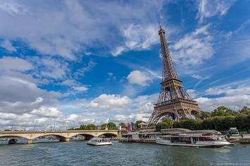 Sailing the Private Boat on the Seine River