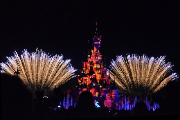Watch the Spectacular Fireworks at Disneyland Paris