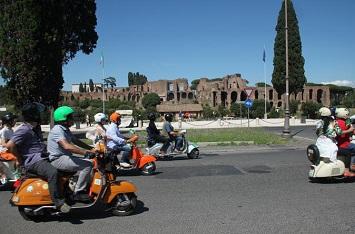 A Full day Vespa Ride