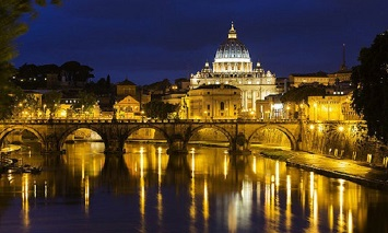 Join a Dinner Cruise at the River Tiber