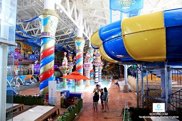 Summer Refresh in a water park