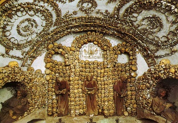 Visiting a Crypt of Skulls