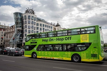 Prague: 24 or 48-Hour Hop-On Hop-Off Bus Ticket