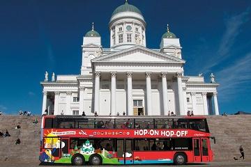 Helsinki Hop-On Hop-Off 24h ticket (Autumn)