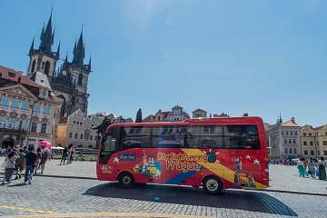 City Sightseeing Prague Hop-On Hop-Off Bus + Old Town Medieval Underground Tour