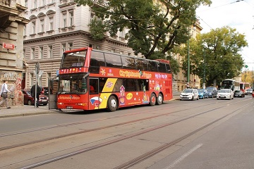 City Sightseeing Prague Hop-On Hop-Off Bus Tour + Wax Museum of Legends